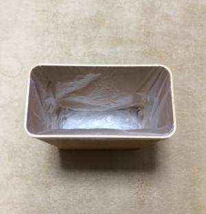 0102018b (無印)木製ごみ箱に「ロール式ごみ袋15L用」をセット2