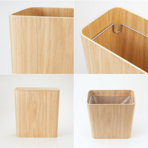 (無印)リビング用木製ごみ箱