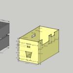 「パッケージは切っておいたから」suaoki S270の箱は切り欠いて使いましょう