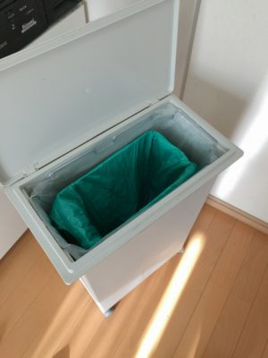 0102000「ごみ箱inごみ箱」キッチンの臭いと汚れがなくなります